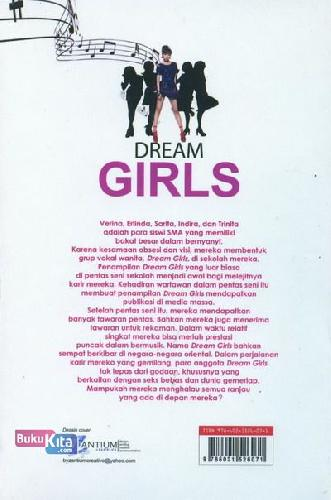 Cover Belakang Buku Dream Girls