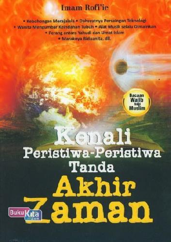 Cover Buku Kenali Peristiwa-Peristiwa Tanda Akhir Zaman