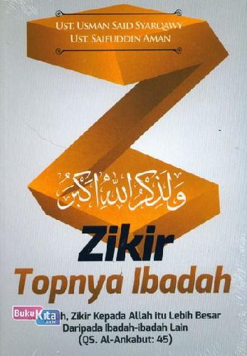 Cover Buku Zikir Topnya Ibadah