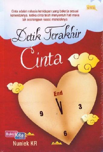 Cover Buku Detik Terakhir Cinta