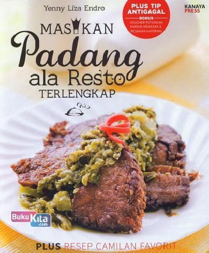 Cover Buku Masakan Padang ala Resto Terlengkap