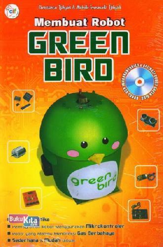 Cover Buku Membuat Robot Green Bird