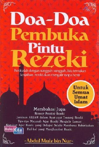 Cover Buku Doa-Doa Pembuka Pintu Rezeki