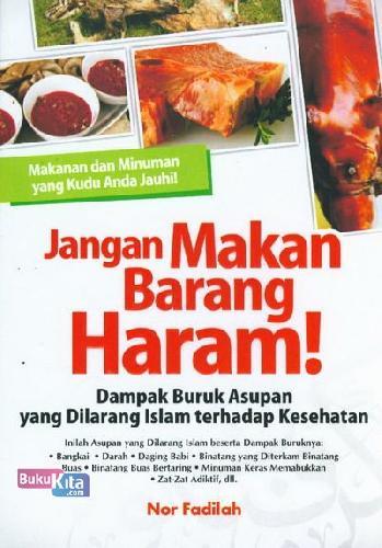 Cover Buku Jangan Makan Barang Haram