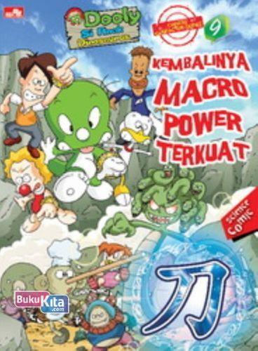 Cover Buku Dooly Chinese Character 9: Kembalinya Macro Power Terkuat