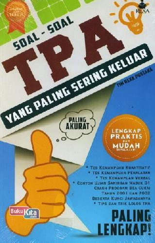 Cover Buku Soal-Soal TPA yang Paling Sering Keluar