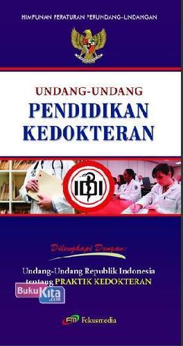 Cover Buku Undang-Undang Pendidikan Kedokteran