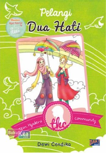 Cover Buku Thc: Pelangi Dua Hati
