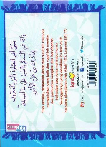 Cover Belakang Buku Belajar Shalat (Biru)