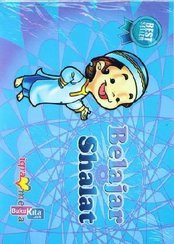 Cover Buku Belajar Shalat (Biru)