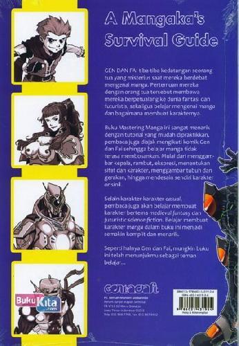 Cover Belakang Buku Mastering Manga