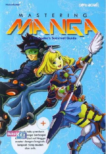 Cover Buku Mastering Manga