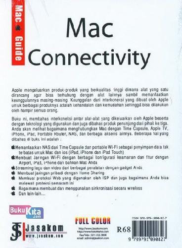 Cover Belakang Buku Mac Connectivity (Full Color)