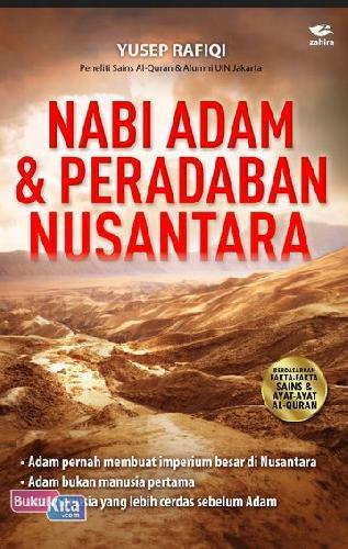 Cover Buku Nabi Adam dan Peradaban Nusantara