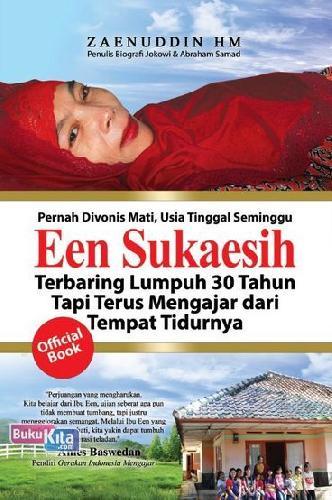 Cover Buku Een Sukaesih Sang Guru Qolbu