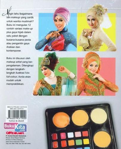 Cover Belakang Buku Inspirasi Cantik Makeover for Wedding+Party