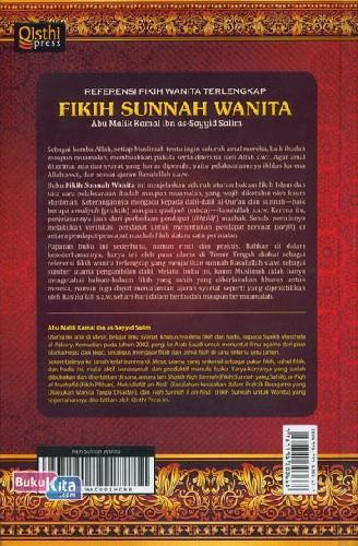 Cover Belakang Buku Fikih Sunnah Wanita