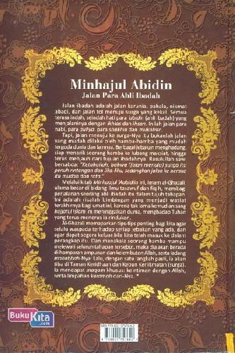 Cover Belakang Buku Minhajul Abidin : Jalan Para Ahli Ibadah (Edisi Baru)