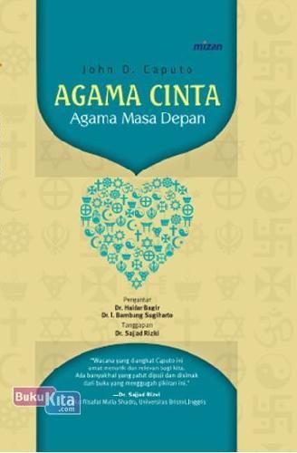 Cover Buku Agama Cinta. Agama Masa Depan