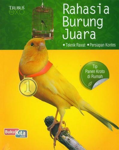 Cover Buku Rahasia Burung Juara