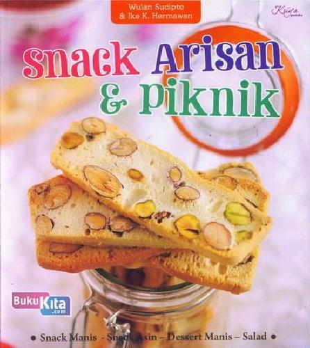 Cover Buku Snack Arisan dan Piknik