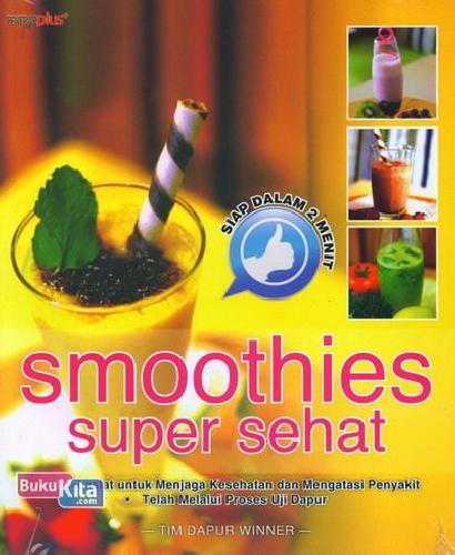 Cover Buku Smoothies Super Sehat