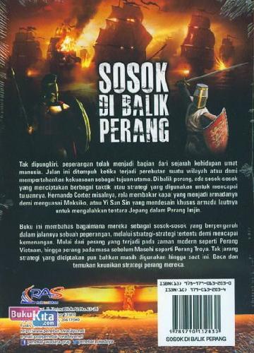 Cover Belakang Buku Sosok Di Balik Perang