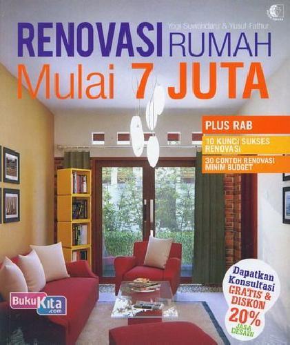 Cover Buku Renovasi Rumah Mulai 7 Juta