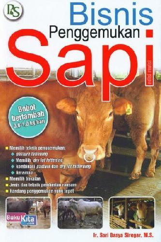 Cover Buku Bisnis Penggemukan Sapi (Edisi Revisi)