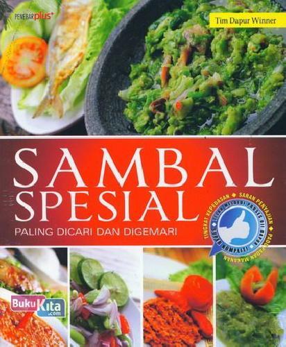 Cover Buku Sambal Spesial Paling Dicari dan Digemari