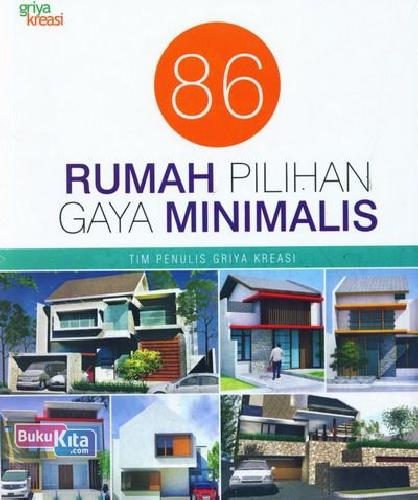 Cover Buku 86 Rumah Pilihan Gaya Minimalis