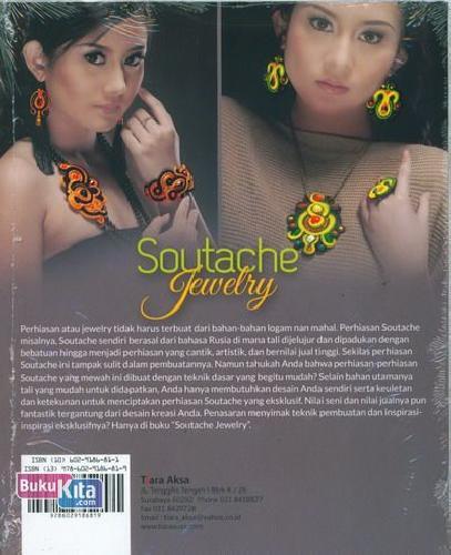 Cover Belakang Buku Soutache Jewelry