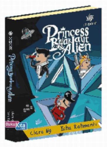 Cover Buku Princess. Bajak Laut. & Alien
