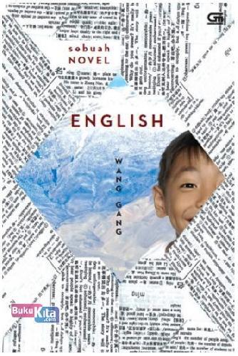 Cover Buku English sebuah novel