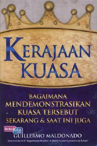 Cover Buku Kerajaan Kuasa