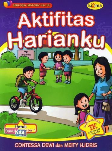 Cover Buku Aktifitas Harianku  (Promo Luxima)