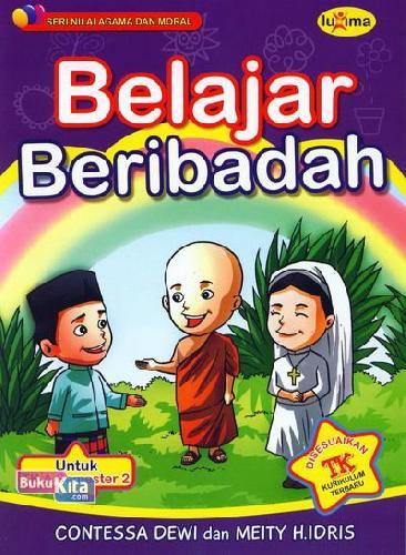 Cover Belakang Buku Belajar Beribadah (untuk TK A Semester 2) (Promo Luxima)
