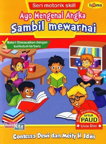 Cover Buku Ayo Mengenal Angka Sambil Mewarnai (Promo Luxima)