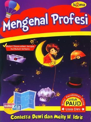 Cover Buku Mengenal Profesi (Promo Luxima)