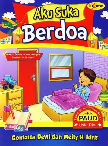 Cover Buku Aku Suka Berdoa (Promo Luxima)