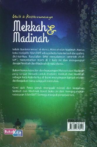 Cover Belakang Buku Unik & Keistimewaannya Mekkah dan Madinah