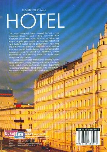 Cover Belakang Buku Ensiklopedia Mini : Hotel