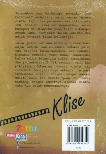 Cover Belakang Buku KLISE