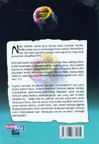 Cover Belakang Buku Aku + Pikiran = Kenyataan : Hidup Bahagia dengan Husnudzon (Positif Thinking)