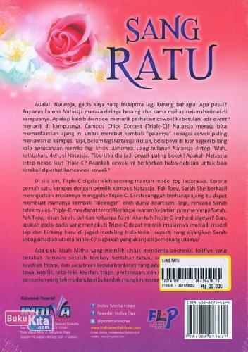 Cover Belakang Buku Sang Ratu