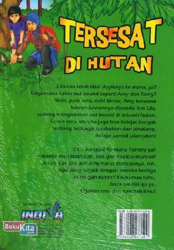 Cover Belakang Buku Tersesat di Hutan