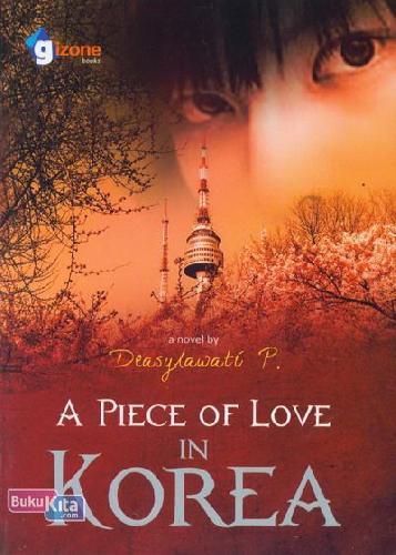 Cover Buku A Piece of Love in Korea