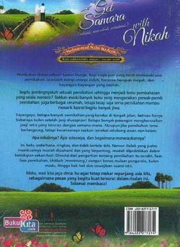 Cover Belakang Buku Get Samara With Nikah