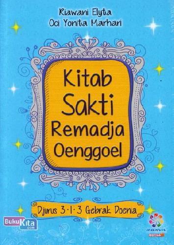 Cover Buku Kitab Sakti Remadja Oenggoel