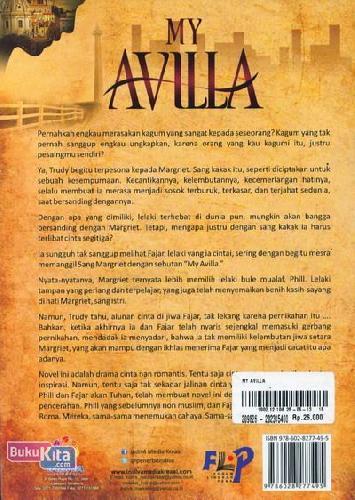 Cover Belakang Buku My Avilla